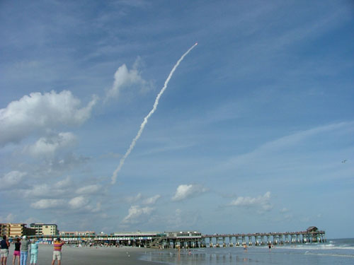 Shuttle launch 2/8/08